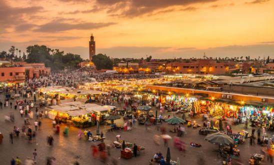 Πλατεία Τζεμάα Ελ Φνα στο Μαρακές